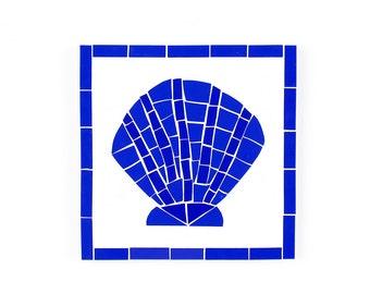 Scallop Shell Tile Etsy