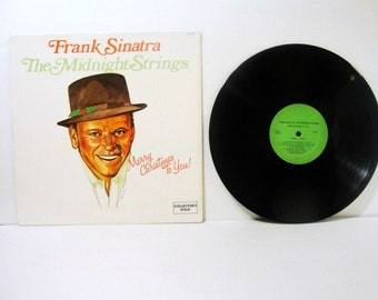 Frank Sinatra and The Midnight Strings, Merry Christmas To You ! 1977 33-1/3 RPM