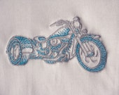 Shortsleeve Bodysuit  6  9 Months  Harley Tricycle Choose colour  Embroidered Design