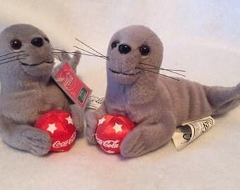 Coca Cola - 2 beanbag seals