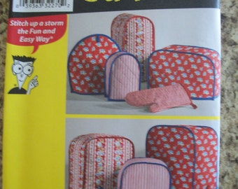 Simplicity 2753 appliance covers, pot holders and mitt. Sewing Patterns for Dummies