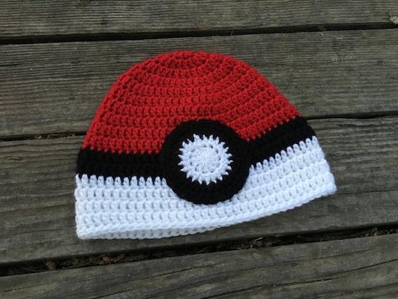 Pokemon hat, Pokemon beanie, Pokemon Go, baby hat,