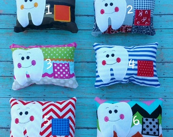 Kids Tooth Fairy Pillows