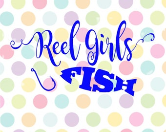 Reel Girls Fish SVG Studio  Pdf Eps PNG