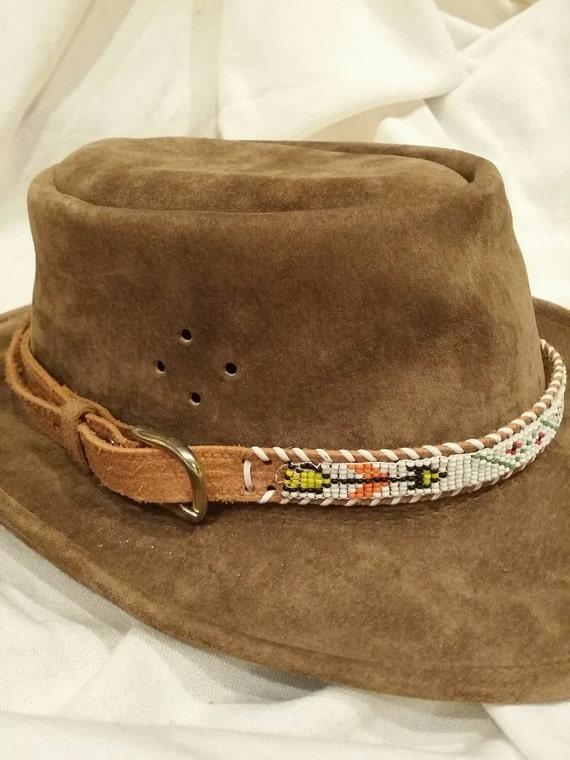 beaded hat band beaded hat band indian beaded hat