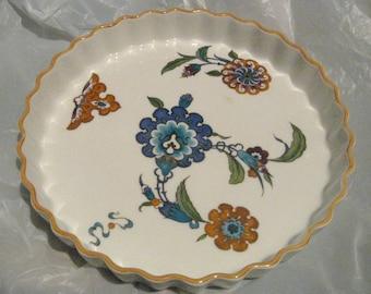 "ROYAL WORCESTER PALMYRA Pattern Quiche Dish 10"""