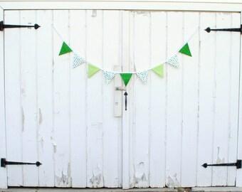 St Patrick's Day Shamrock Pennant Banner Bunting