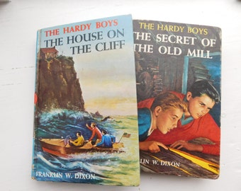 Set of Two Vintage Hardy Boys Books