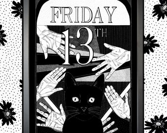 Friday 13th Illustration