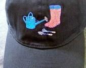 Pink Garden Rubber Boots ...