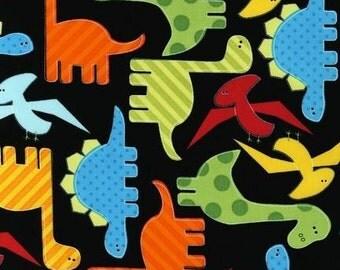 Robert Kaufman - Dino Urban Zoologie 100% cotton