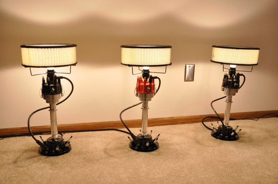 Man Cave Lamps : Speed lamps the ultimate hand made man cave lamp v