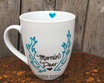 """Cute Mornin' """"Deer"""" Dear Mug!"""