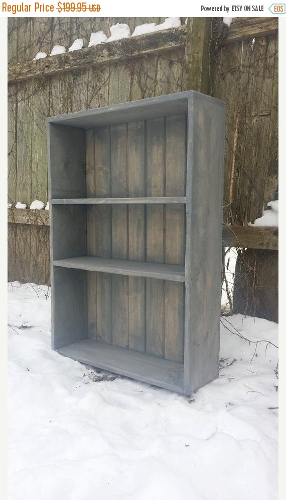 HUGE SALE Weathered Gray Stained Reclaimed by UniquePrimtiques