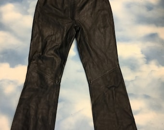 SOLD     Genuine leather Italian Pants
