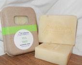 Tea Tree Soap, Problem Skin Soap, Handmade Vegan Soap, Pure Essential Oils, All Natural Soap, Skin Problem Soap, Poison Ivy Soap