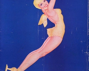 Souvenir Program From The Ice Capades From 1946