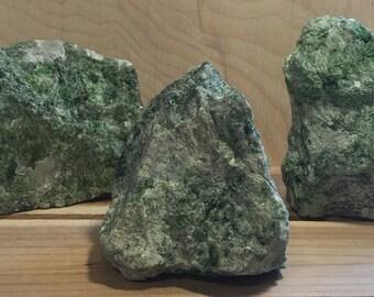 Diopside Natural Healing Stone, Spiritual Stone, Healing Stone, Healing Crystal, Chakra