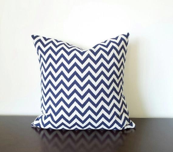 Midnight Blue Decorative Pillows Geometric Pillows by JeTashi