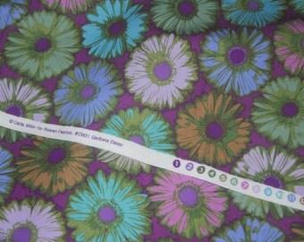 "Remnant 22""x22"" Gerber Daisy by Carla Miller for Rowan Fabrics by Westminster Fibers.  Patt# CM 21"