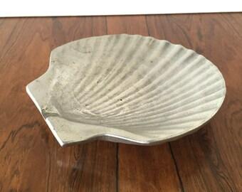 Antique Scallop Dish