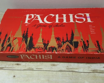 Pachisi, 1962, vintage board game
