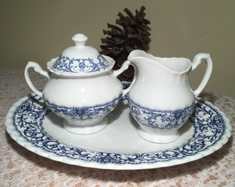 "3 PC Serving Set by J & G Meakin ""Classic White"""
