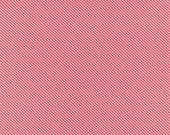 1/2 Yard - Little Ruby Banner Red Fabric by Bonnie and Camille - 55132 11