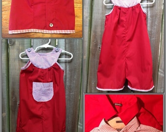 Upcycle Toddler Romper