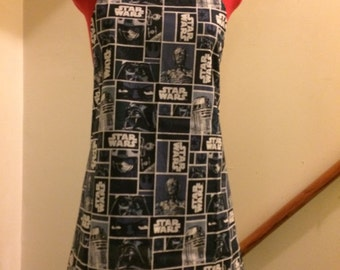 Star Wars Apron Character Blocks