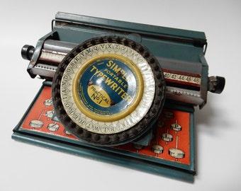 Simplex Portable Typewriter