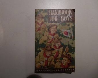 1948 Handbook for Boys Fifth Edition First Printing