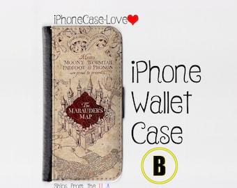 iPhone 6 Plus Case - iPhone 6 Plus Wallet Case - iphone 6 Plus - iPhone 6 Plus Wallet - Harry Potter iphone 6 Plus case B