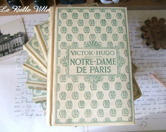 Vintage French book - A 1930s Nelson Editeurs book - Victor Hugo