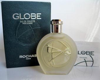 Rochas Globe 90's Vintage Formula  Eau de Toilette Pour Homme in Box! FREE UK DELIVERY!