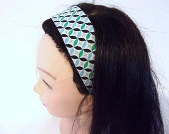 graphic hair headband woman