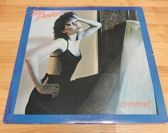 Pat Benatar In the Heat of the Night Vinyl Record lp album