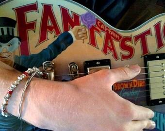 "Captain Fantastic"" Guitar String Bracelet 2016-17 Elton John Tour"