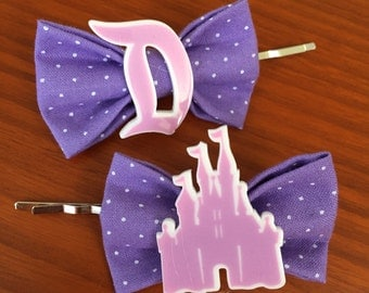 Disney Castle Inspired Bobby Pins-Set of 2