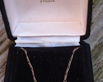 Vintage Franklin Mint boxed sterling silver necklace