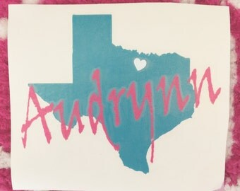 Name & State Pride Decal