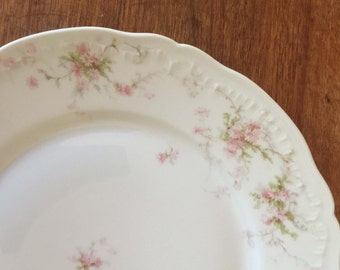 Half Price Haviland Sale, Antique Haviland Limoges Dinner Plate, Schleiger 142, Collectible China, Shabby Chic, Cottage Style, France, Gift
