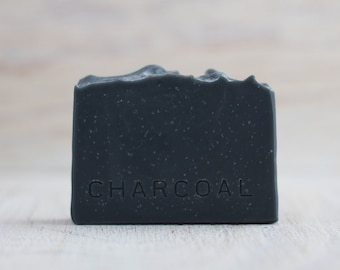 Charcoal, handmade cold process soap