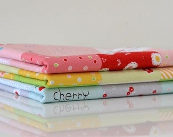 Sweet Orchard - Cheater Print Fat Quarter Bundle - 3 Pieces