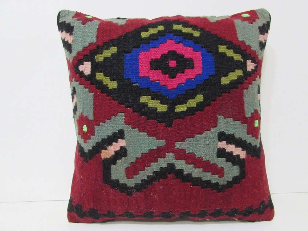 Xl Throw Pillows : kilim pillow 20x20 extra large pillow sham needlepoint pillow