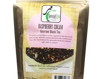 Raspberry Cream Black Tea, 20 Tea Bags