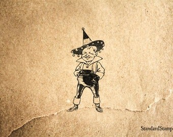 Munchkin Wizard of Oz Rubber Stamp - 1 x 2 inches
