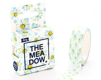 15mmX7M Daisy Washi tape Decorative Masking Tape