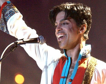 Prince, played his final show on April 14 at the Fox Theater in Atlanta