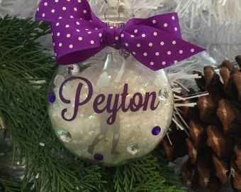 Volleyball Ornament, Personalized